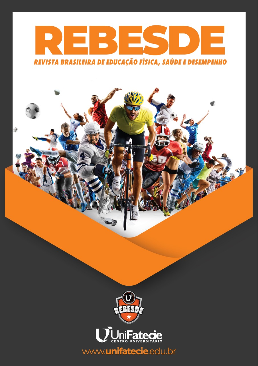 Visualizar v. 1 n. 1 (2020): Revista Brasileira de Educação Física, Saúde e Desempenho (REBESDE)